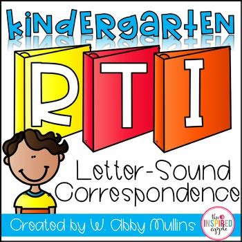 Letter Sound Correspondence
