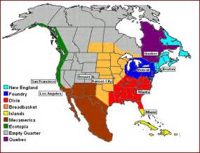 regions of america map is american culture primarily regional what are the