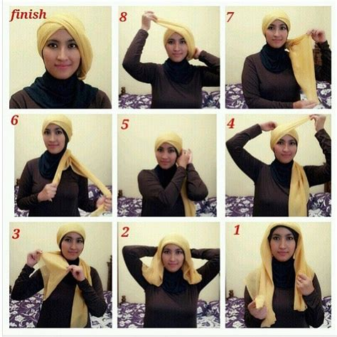 tutorial hijab vemale 425 best hijab tutorials ideas images on pinterest