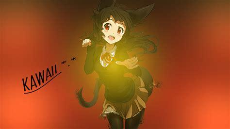 wallpaper girl deviantart anime kawaii girl wallpaper by oxelon on deviantart