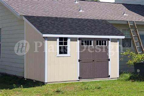 classic storage shed plans lean  dl