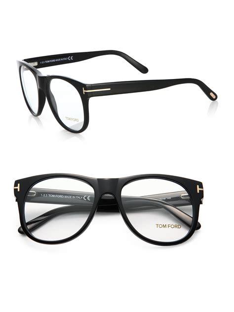 tom ford 5314 oversized optical frames in black for lyst