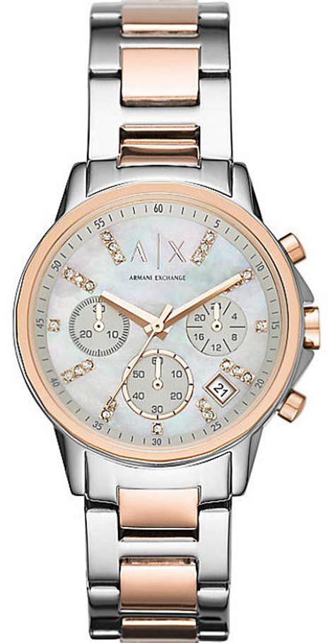 s armani exchange bank s chronograph