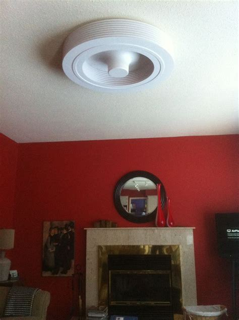Exhale Ceiling Fan by Bladeless Ceiling Fan Install Exhale Fans Owners Club