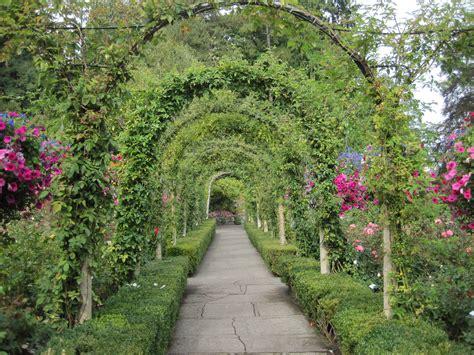 Veggie Garden Arch Archway Sidewalk