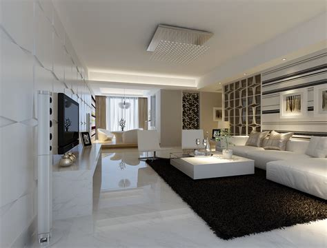 living room marble floor modern white marble flooring for living room with black