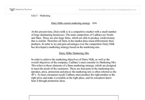 Cadbury Chocolate Thesis by Cadbury Marketing Mix Essays
