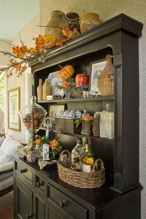 Kitchen Hutch Decorating Ideas by Dining Room Buffet Designwalls