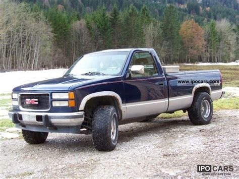 1994 gmc trucks 1994 gmc v8 car photo and specs