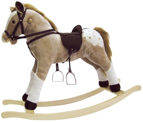 swing horse toy large plush rocking horse quot bullets quot swing alzashop com
