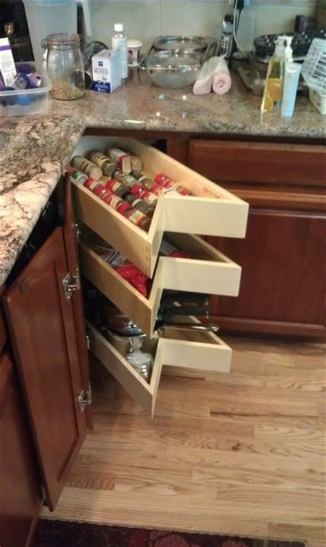 Lazy Susan With Drawers by Glide Around Lazy Susan Shelves And Drawers In Your