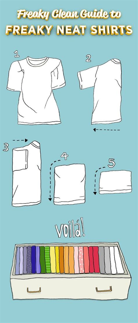 Folding T Shirts For Drawers by T Shirts Hacks And Drawers On