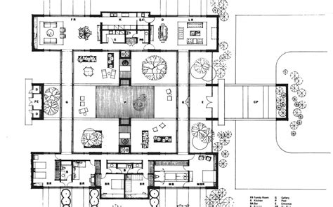 case study houses floor plans case study house plans numberedtype
