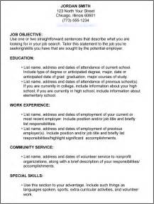 Job Purpose Resume Format by P O W E R Job Search Tips Preparing For Job Search
