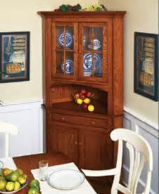 corner kitchen hutch furniture amish corner hutches handcrafted solid wood corner