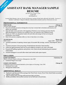 Bank Manager Resume Sample Assistant Branch Manager Resume Examples Images