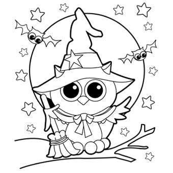 printable halloween owl free printable coloring pages halloween 2015