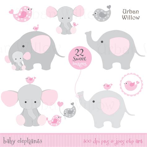 Baby Shower Clip by Free Baby Shower Elephant Clip 41