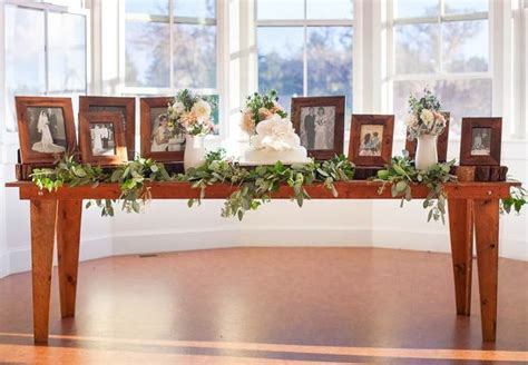 memory table at wedding reception 1000 ideas about wedding memory table on