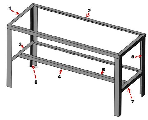 pdf plans metal workshop bench plans home depot