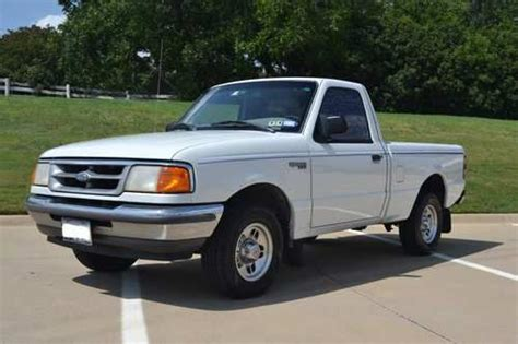 Purchase used 1997 Ford Ranger XLT Standard Cab Pickup 2