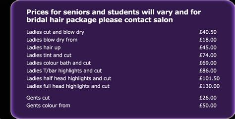 hairdresser prices glasgow hairdresser hyndland west end glasgow styling
