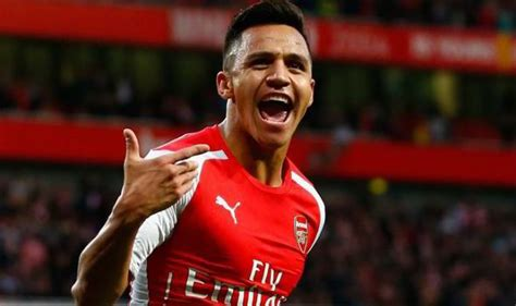 alexis sanchez lifestyle alexis sanchez arsenal fine form arsene wenger football