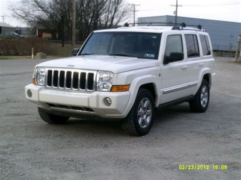 Jeep Commander 4x4 Purchase Used 2007 Jeep Commander 4x4 S W Limited Hemi In