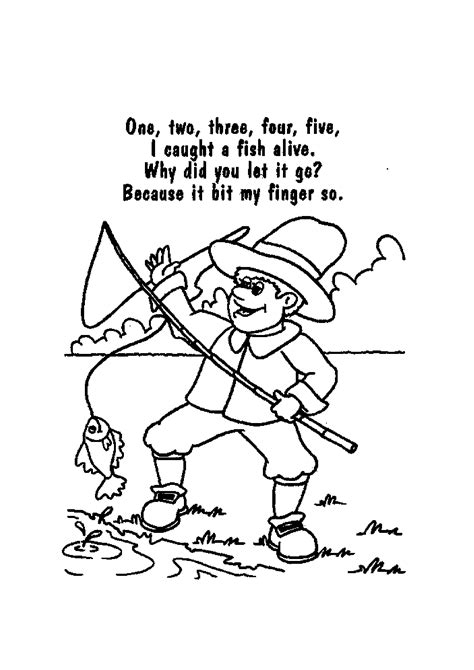 printable free nursery rhymes nursery rhyme printable coloring pages