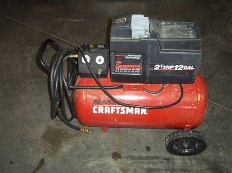 Hp Air 2 craftsman 12 gallon 2 1 2 hp air compressor advanced sales consignment auction 187 k bid