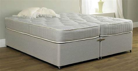 zip bed premiere contract 6ft zip link bed 10in deep medium firm