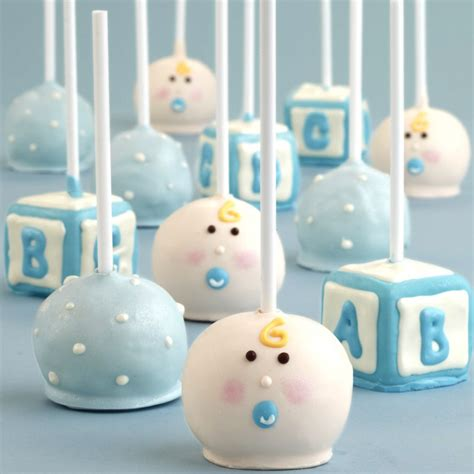 Baby Boy Baby Shower Cake Pops by Unique Baby Shower Cakes Unique Baby Shower Favor Ideas