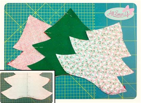 Tree Template For Sewing Fabric Christmas Tree Decoration