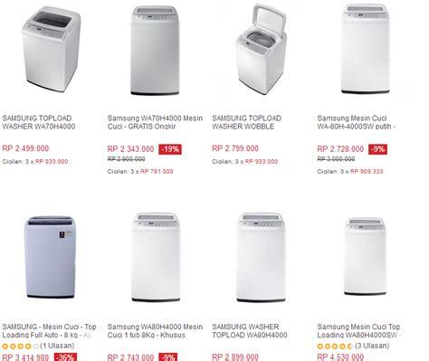 Harga Merk Mesin Cuci Lg mesin cuci daftar harga samsung lg sharp sanyo