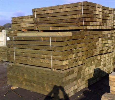 Sleepers Cut To Size by Machine Cut Softwood Sleepers Supplies Gloucester