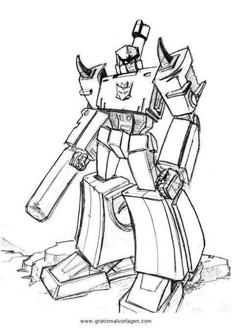 transformers megatron  gratis malvorlage  comic