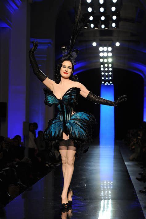 Gaultier Show A Come True For Dita by Jean Paul Gaultier Runway Show Zimbio