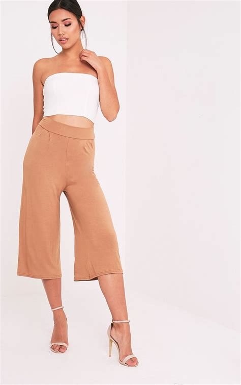 Basic Cullotes culottes s cropped prettylittlething usa