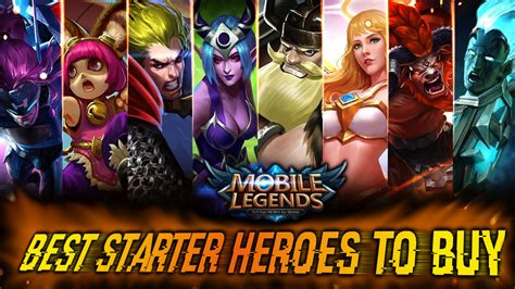 mobile legends best heroes mobile legends best starter heroes beginners guide pt 4