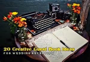 themed wedding reception guest book 20 creative guest book alternatives