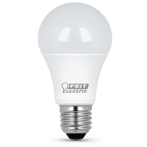 75 Watt Led Light Bulb Feit Electric 75 Watt Equivalent Daylight A19 Led Medium Base Light Bulb Of 12 A1100 850