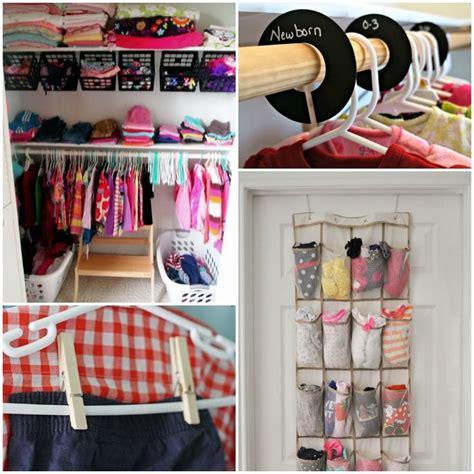organizing shirts in closet 1000 ideas about organize baby clothes on pinterest