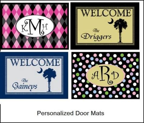 Monogrammed Welcome Mats by Monogrammed Welcome Mats