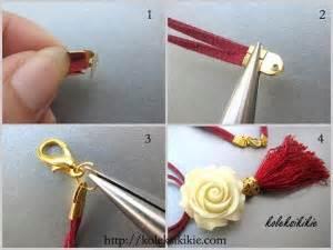 Kalung Broken Golden diy kalung mawar rumbai d i y do it yourself