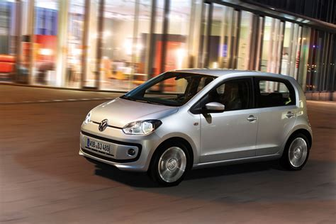 silver volkswagen 2012 silver volkswagen up four door front view