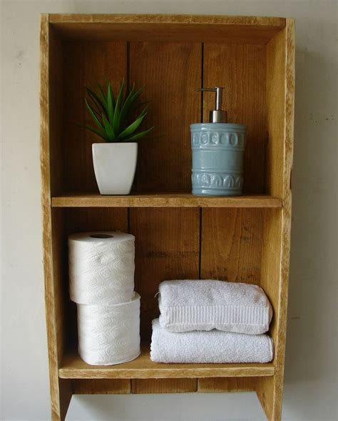 Rustic Bathroom Shelves Rustic Bathroom Shelf