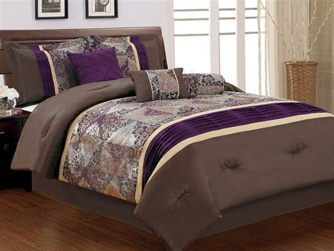 Purple Size Comforter Sets by Purple King Size Bedding Sets Spillo Caves