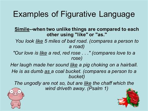 figurative language and descriptive writing ppt video