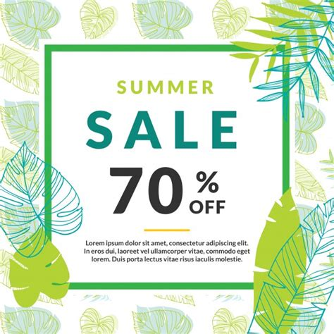 free vector template summer sale vectors photos and psd files free