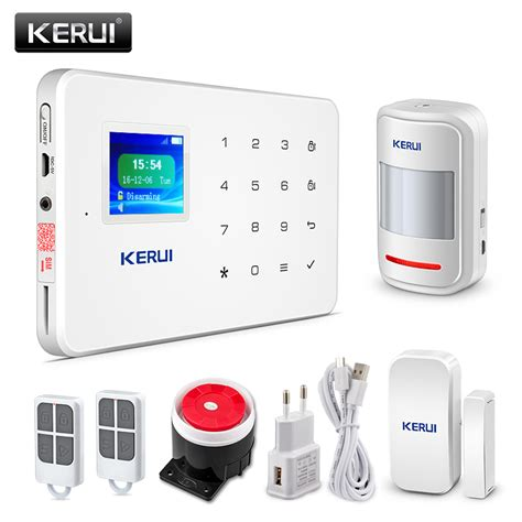 kerui g18 tft touch gsm alarm wireless ios android app